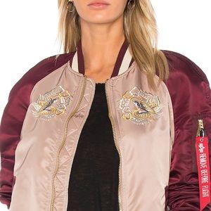 Alpha Industries Reversible Souvenir Eagle Jacket
